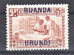 Ruanda Urundi Nr 88       Neuf - Postfris - MNH    (xx) - Ruanda-Urundi