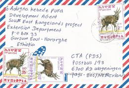 Ethiopia 2003 Gursum Bushbuck Cover - Ethiopië