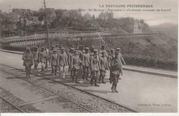 La Bretagne Pittoresque-St Brieuc-Prisonniers Allemands Revenant Du Travail. - Saint-Brieuc