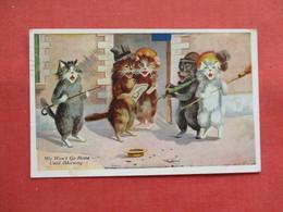 Dressed Singing Cats      Ref 3198 - Katten