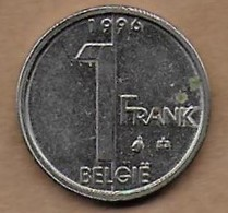 1 Franc 1996 FL - 1993-...: Albert II