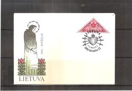 FDC Lithuanie - Coeur (à Voir) - Lituanie