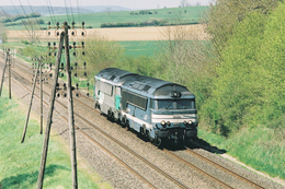 Cendrecourt (70 - France) 22 Avril 2005 - A1A A1A 68079 & A1A A1A 68037 (livrée Fret) - France
