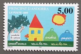 Andorre - YT N°513 - Recyclons - 1999 - Neuf - Andorra Francesa