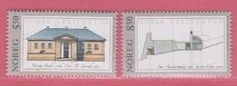 2001 ** (sans Charn., MNH, Postfrish)  Yv  1336/7Mi  1387/8NHK  1428/9 - Norvège