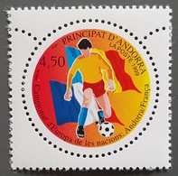 Andorre - YT N°517 - Championnat D'Europe Des Nations / Football / Sport  - 1999 - Neuf - Andorra Francesa
