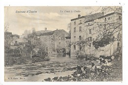COUDES  (cpa 63)   La Couze à Coudes -  Lavandières   -  L 1 - France