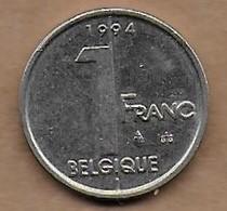 1 Franc 1994 FR - 1993-...: Albert II