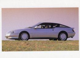 Alpine GTA Turbo  -  1986  -  Carte Postale - Turismo