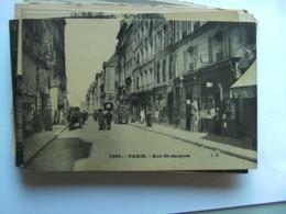 Frankrijk France Frankreich Parijs Paris  Rue St Jacques  Vieux - Frankrijk