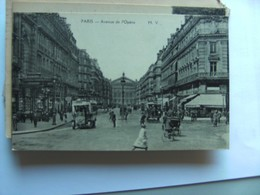 Frankrijk France Frankreich Parijs Paris Avenue De L'Opéra  Vieux - Frankrijk