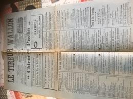 Journal 1939 Le Tireur Wallon - Publicitaire 48x32 - Affiches