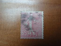 Timbre Semeuse Lignée 65 C. - 1903-60 Semeuse Lignée