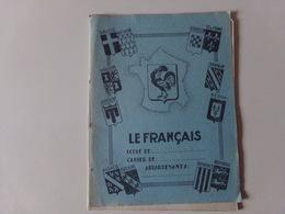 """Cahier Vierge """" Le Français """" - Transportation Tickets"""