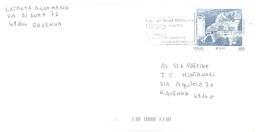 2001 £800 €0,41 SANTA MARIA IN SYLVIS CON ANNULLO TARGHETTA SAGRA UVA RIOLO TERME - 6. 1946-.. Repubblica