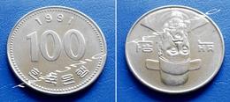 KOREA SOUTH 100 Won 1991 - ADMIRAL YI SOON-SHIN - Korea, South