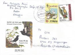 Ethiopia 2000 Deder Elections Democracy Woodpecker Cover - Ethiopië
