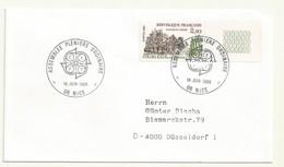 THEME EUROPE  ASSEMBLEE PLENIERE ORDINAIRE NICE 18/06/85 - Cachets Commémoratifs