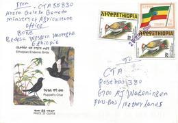 Ethiopia 2000 Bedessa Flag Woodpecker Cover - Ethiopië