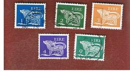IRLANDA (IRELAND) -  SG 340.352  -    1971  STILYZED DOG  - USED - 1949-... Repubblica D'Irlanda
