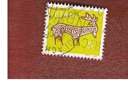 IRLANDA (IRELAND) -  SG 295  -    1971  STILYZED STAG 5  - USED - 1949-... Repubblica D'Irlanda