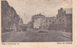 German Feldpost WW1: Postcard Wilna (Vilnius, The Capital Of Lithuania) From Unknown Unit P/m KD - Militaria