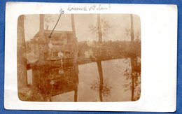 Yser -- Carte Photo  - Soldats Dans Un Abris   --Mai 1916 - War 1914-18