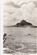AN07 St. Michael's Mount From Marazion - RPPC - St Michael's Mount