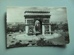 Frankrijk France Frankreich Parijs Paris Arc De Triomphe De L'Etoile Vieux - Arc De Triomphe