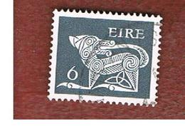 IRLANDA (IRELAND) -  SG 296  -    1971  STILYZED DOG 6   - USED - 1949-... Repubblica D'Irlanda