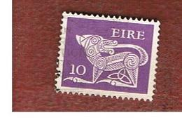 IRLANDA (IRELAND) -  SG 354a  -    1977  STILYZED DOG 10   - USED - 1949-... Repubblica D'Irlanda