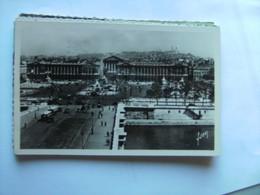 Frankrijk France Frankreich Parijs Paris Place De La Concorde Vue Générale Vieux - Markten, Pleinen
