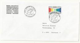 THEME EUROPE  ANNEE EUROPEENNE DU TOURISME  STRASBOURG 11/12/89 - Cachets Commémoratifs