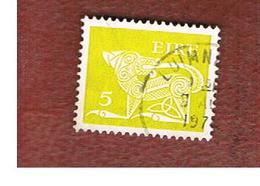 IRLANDA (IRELAND) -  SG 295  -    1974  STILYZED DOG 5   - USED - 1949-... Repubblica D'Irlanda