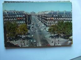Frankrijk France Frankreich Parijs Paris Avenue De L' Opéra Auto - Frankrijk