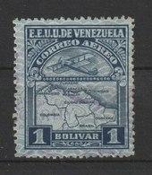 MiNr. 126 Venezuela  1930, 5. April. Flugpostmarken. - Venezuela