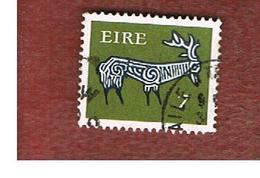 IRLANDA (IRELAND) -  SG 296a  -    1974  STILYZED STAG 7  - USED - 1949-... Repubblica D'Irlanda