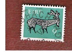 IRLANDA (IRELAND) -  SG 351  -    1974  STILYZED STAG 9   - USED - 1949-... Repubblica D'Irlanda