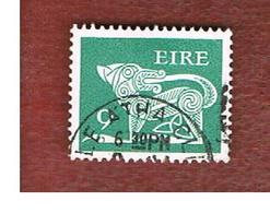 IRLANDA (IRELAND) -  SG 352  -    1976  STILYZED DOG  9   - USED - 1949-... Repubblica D'Irlanda