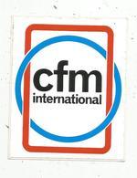 Autocollant , Aviation ,avion,moteur, CFM International - Adesivi
