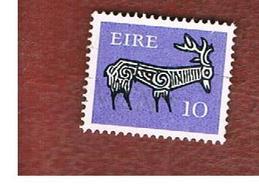 IRLANDA (IRELAND) -  SG 354  -    1976  STILYZED STAG 10  - USED - 1949-... Repubblica D'Irlanda