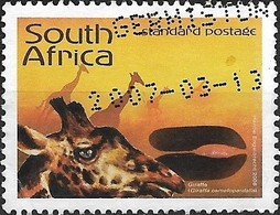 SOUTH AFRICA 2006 Animal Tracks-Stories In The Sand - (1r.85) - Giraffe FU - Afrique Du Sud (1961-...)