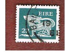 IRLANDA (IRELAND) -  SG 480  -    1981  STILYZED DOG  22  - USED - 1949-... Repubblica D'Irlanda