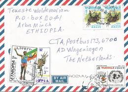 Ethiopia 2013 Arbaminch Athletics Marathon Haile Gebreselassie Desertification Bushbuck Cover - Ethiopië