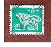 IRLANDA (IRELAND) -  SG 482  -    1982  STILYZED DOG  26  - USED - 1949-... Repubblica D'Irlanda