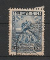 MiNr. 292 Venezuela 1938, 24. Juli. Tag Des Arbeiters; 155. Geburtstag Von Simón Bolívar. - Venezuela