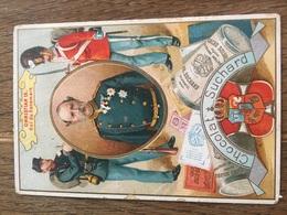 CHROMO CHOCOLAT SUCHARD S48 Rulers Of Europe Roi Danemark Christian IX - Suchard