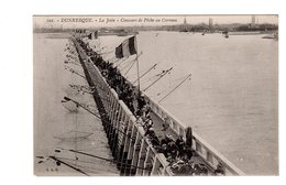 CPA 59 -  Dunkerque - La Jetée - Concours De Pêche Au Carreau - Dunkerque