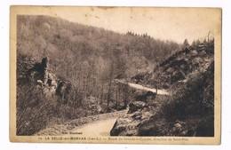 La SELLE En MORVAN  58  Route Direction De Saint Prix En 1941 - France