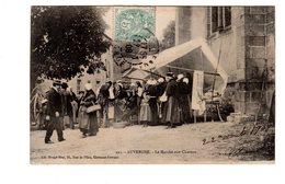 CPA 63 -  Auvergne - Le Marché Aux Cheveux - France